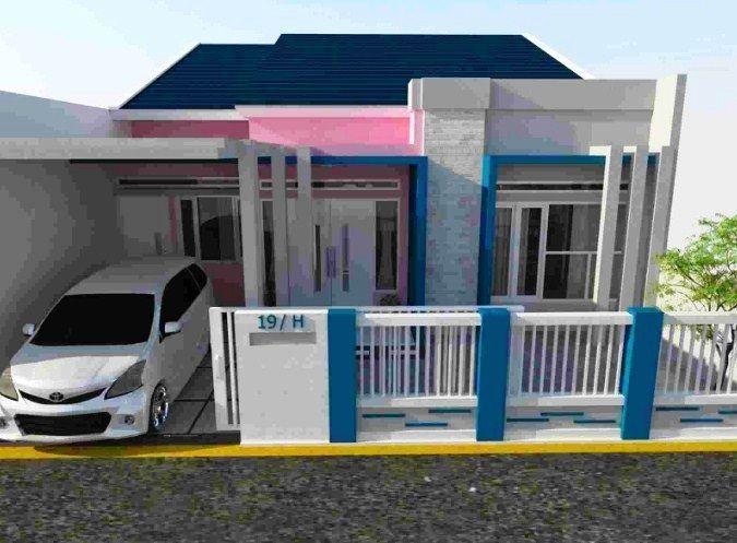 26 Model Dan Gambar Desain Pagar Rumah Minimalis Warna Putih