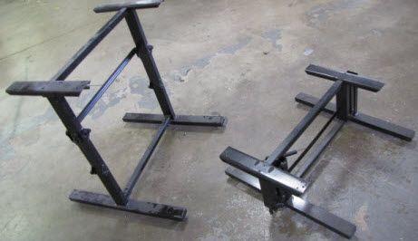 Table legbed base mechanism powder coated black travel table legbed base mechanism powder coated black watchthetrailerfo