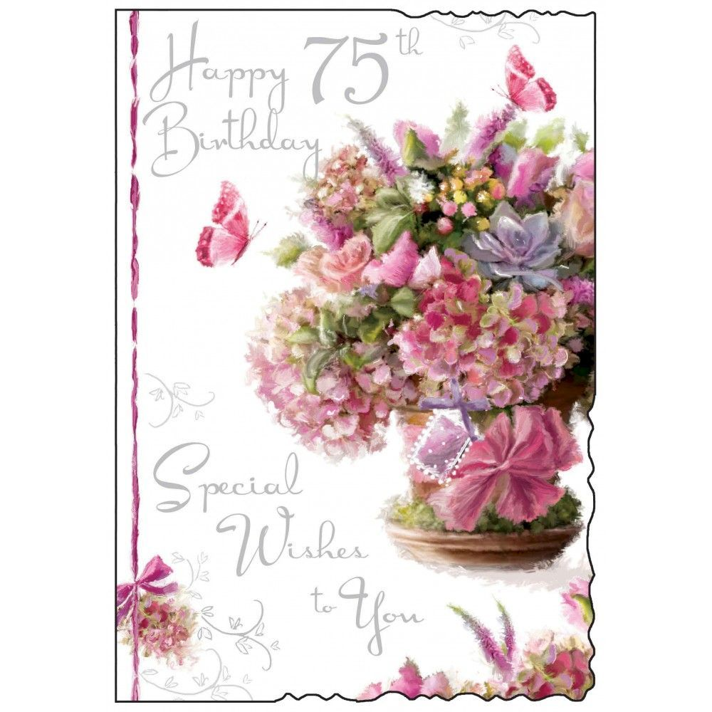75th Birthday Cards Quotes Wishes Messages And Images Happy