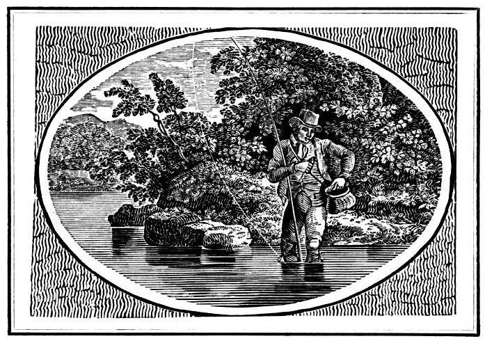 Angler illustration, 19th century.