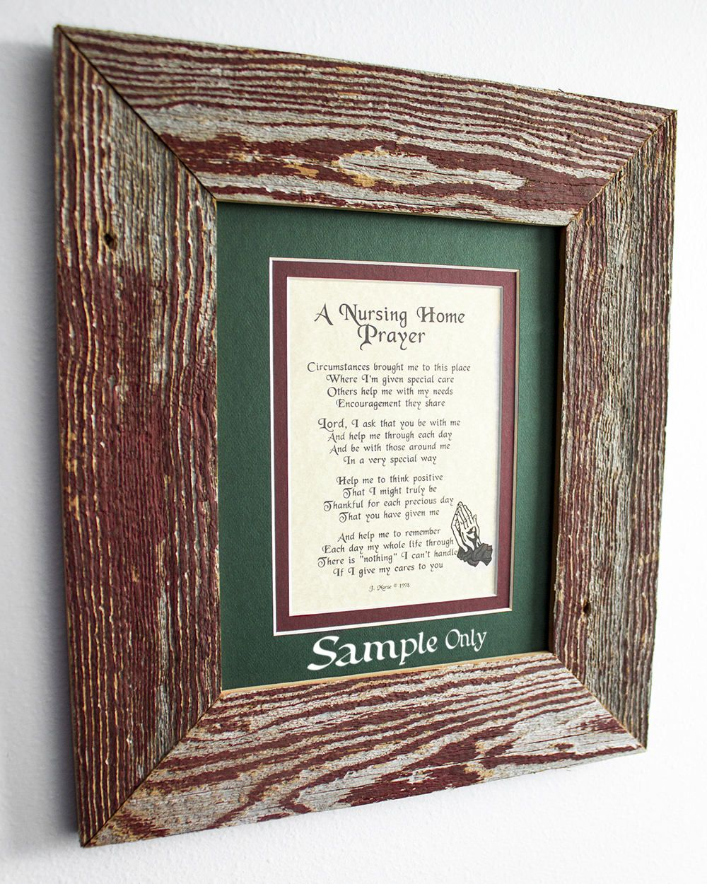 85 x 11 inch authentic barn wood frame old barnwood recycled repurposed upcycled reclaimed vintage farmhouse frames naturally seasoned - My Barnwood Frames
