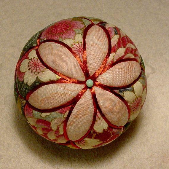 Kimekomi Ball  Flowers by DottiesTemaris on Etsy, $25.00