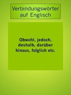 Jedoch Auf Englisch