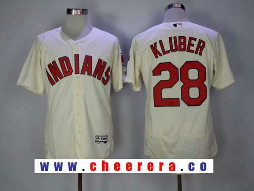 624d45bf796 ... wholesale mens cleveland indians 28 corey kluber cream alternate  stitched mlb 2016 majestic flex base jersey
