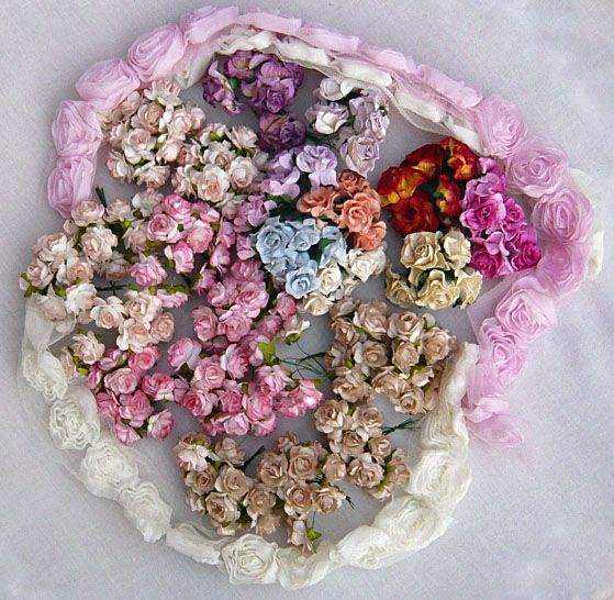Wild orchid crafts has beautiful paper flowers and trims and charms wild orchid crafts has beautiful paper flowers and trims and charms and lace and solutioingenieria Gallery