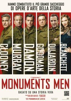 Monuments Men, dal 13 febbraio al cinema.