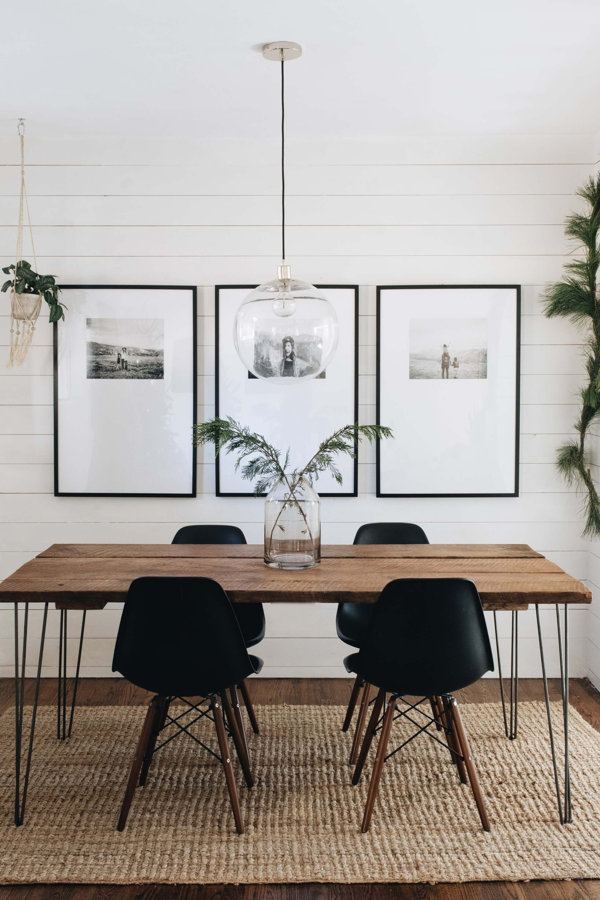 Use These Stunning Dining Room Ideas Pinterest All Pulled From Designer Homes To Update White Dining Room Black And White Dining Room Dining Room Inspiration