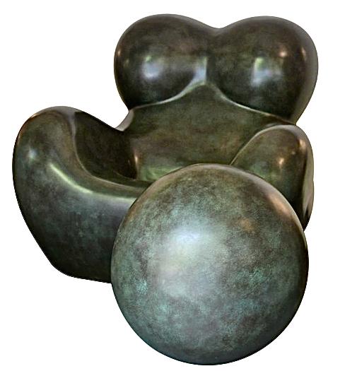 Gaetano Pesce Anthropomorphic armchair-sculpture, 1939