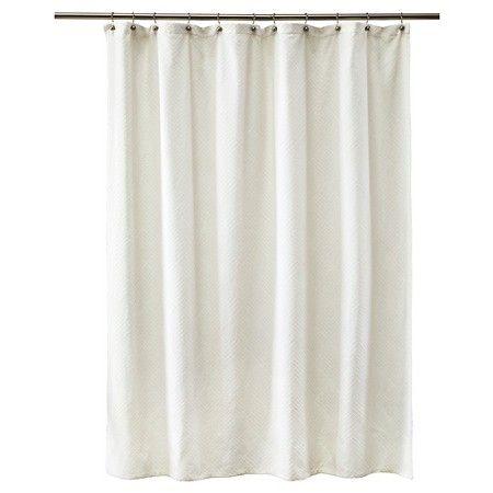 Threshold™ Shower Curtain - Peak White : Target | b a t h r o o m ...