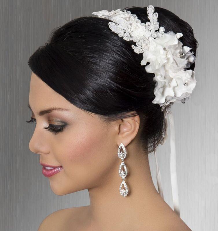 tocados que van al ritmo de la tendencias .este estilo apropiado para bodas vinta ge que evoca el romanticismo y la sobriedad