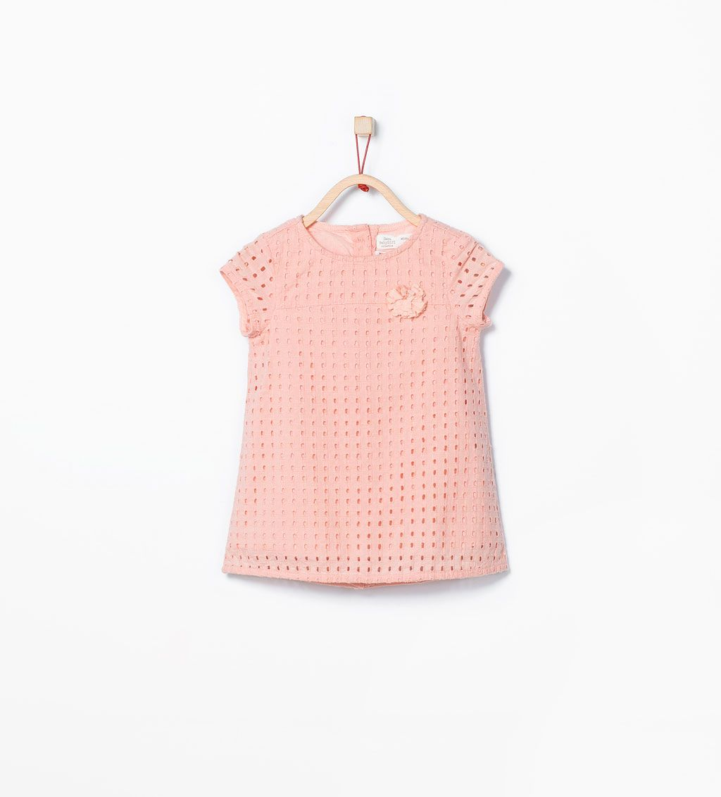 25e3c9c541b Image 1 of Embroidered dress from Zara   Kids Fashion   Baby girl ...