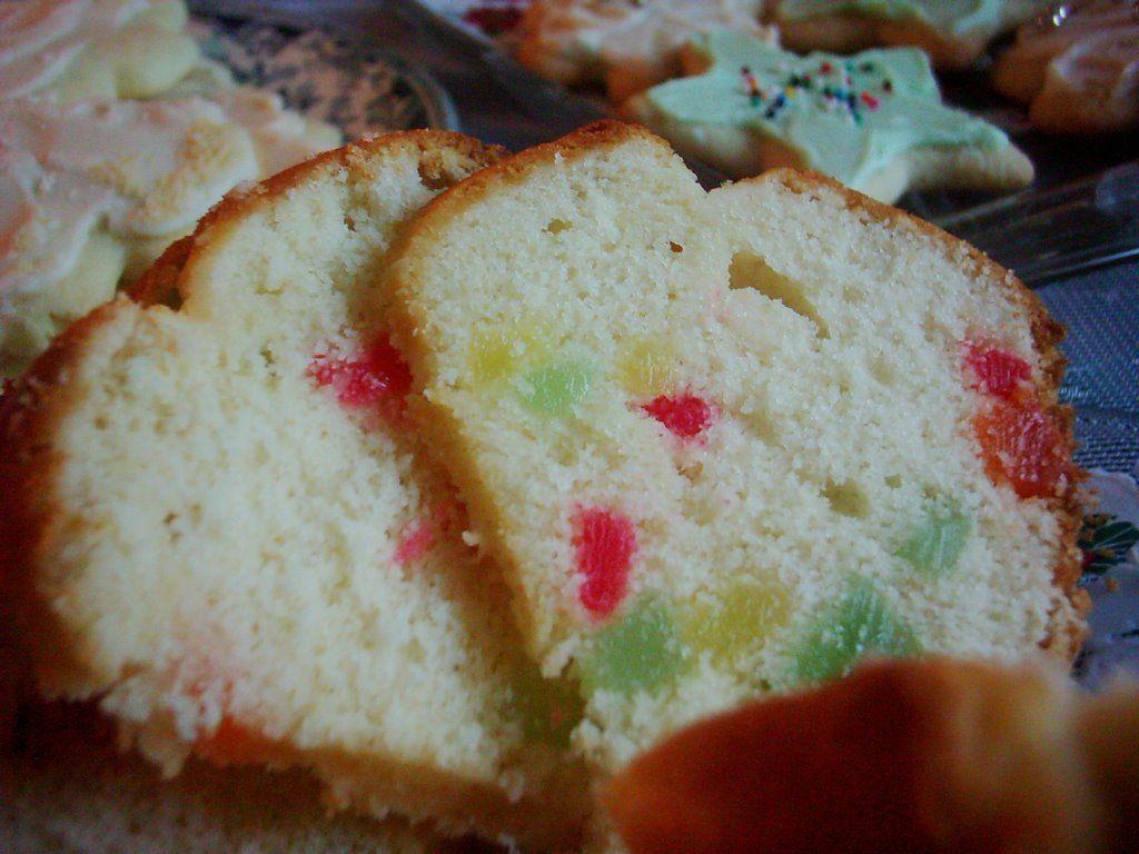 Gumdrop Cake In Loaf Pan