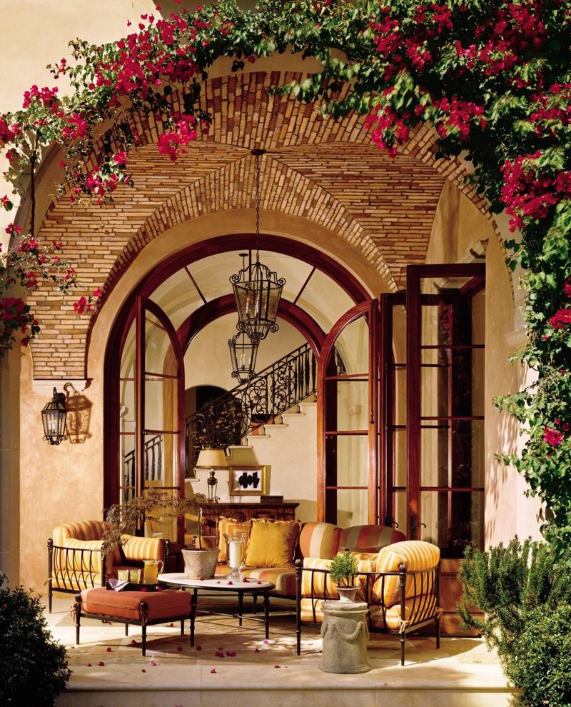 Wonderful Outdoor Dining Area Design And Decorating Ideas: Under The Tuscan Sun: 30 Outdoor Dining In Tuscany