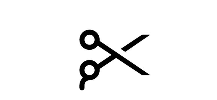 Barber Scissors Icon Barber Scissors Scissors Logo Hairdresser Logo