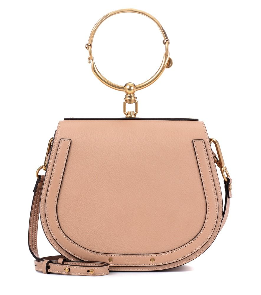 567f00fde58f0 Chloé - Medium Nile leather bracelet bag - Chloé's Medium Nile crossbody bag  has the signature