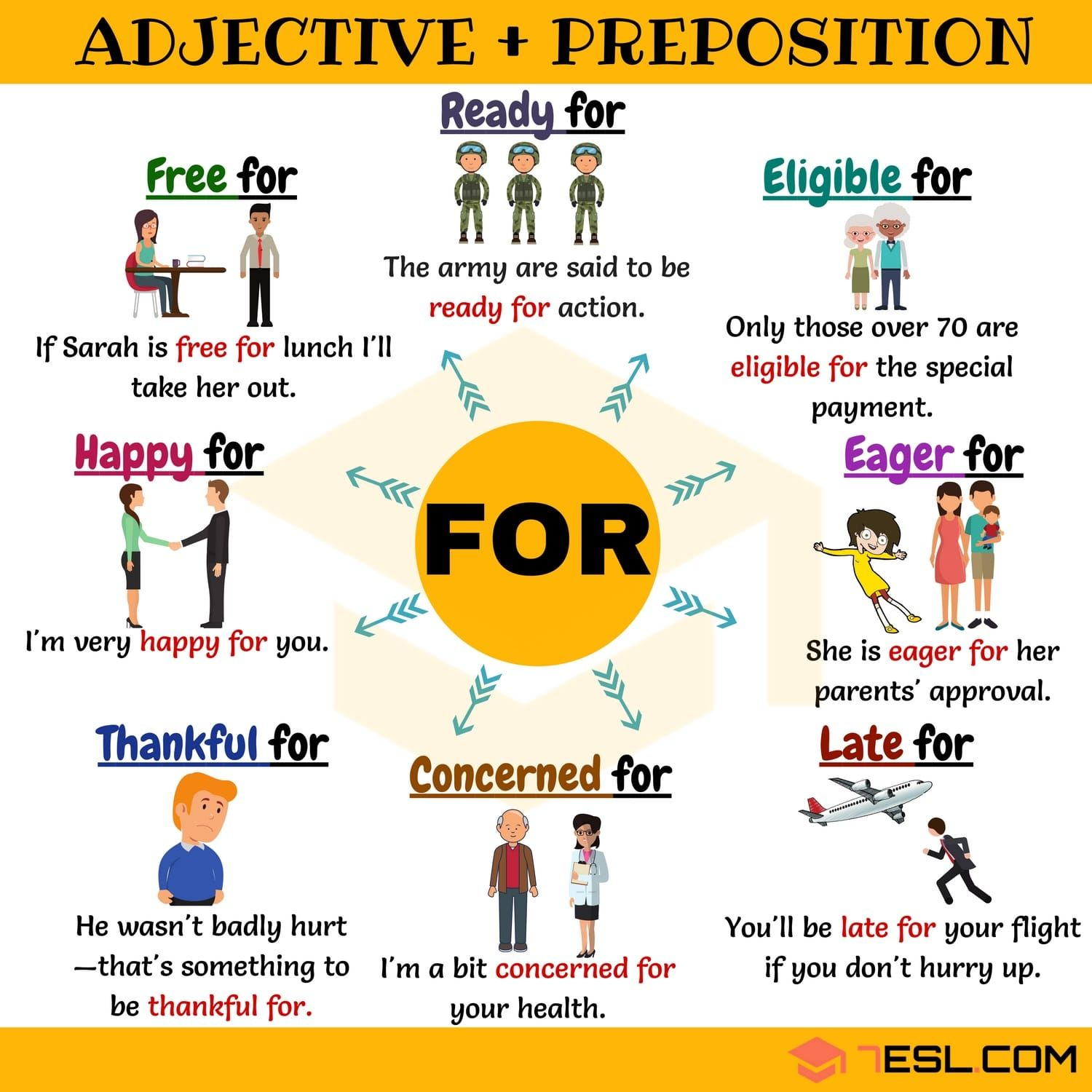 Adjective About 27 Useful Adjective Collocations With