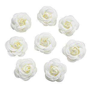 Silk Flower in Bulk Wholesale for Crafts Fake Flower Rose Head Silk Rose Bud Wedbud