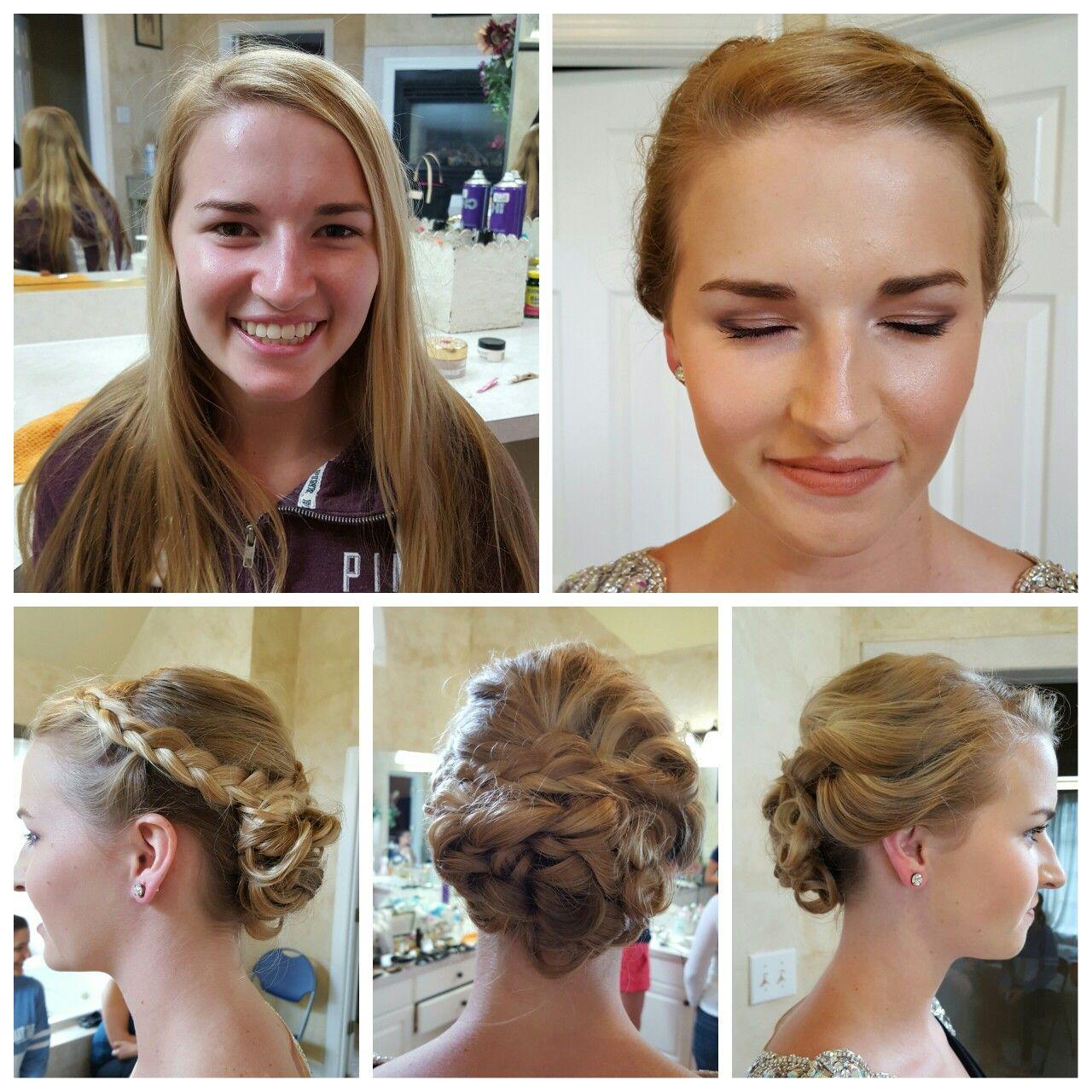 Skyler Smithfield prom makeup and hair Queen makeup