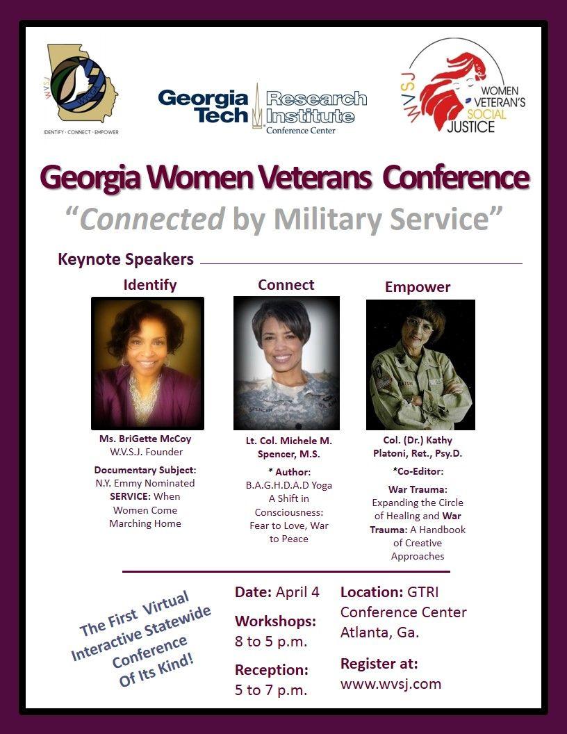 Pin on WVSJ Women Veteran Conferences