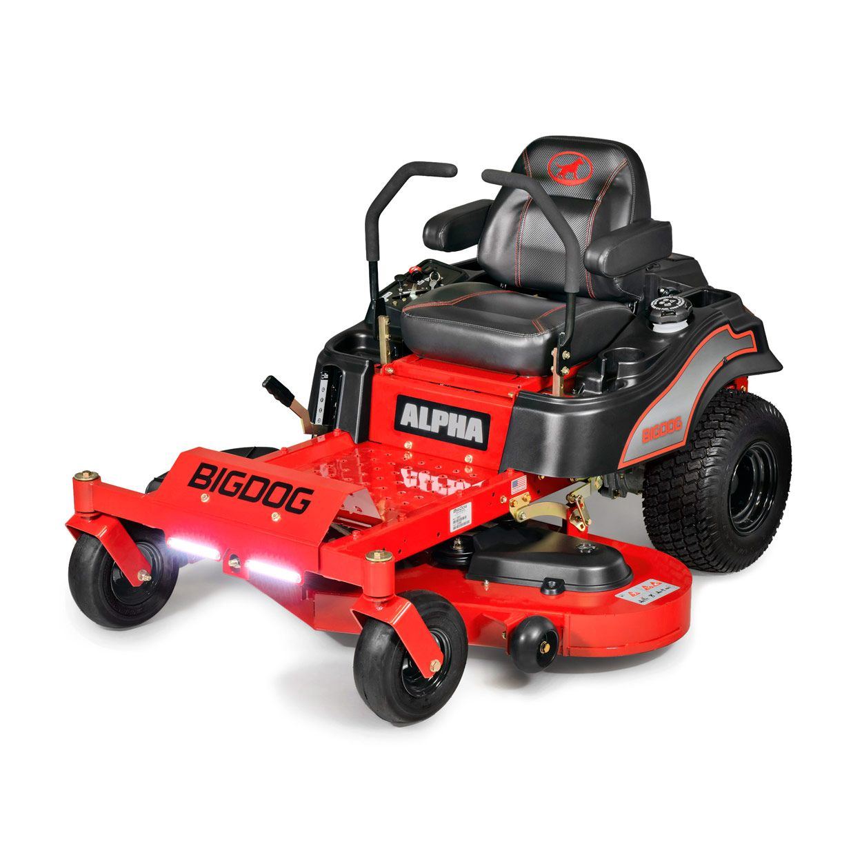 Residential And Commercial Zero Turn Radius Lawn Mowers And Tractors Bigdog Mower Co Mower Steel Deck Landscaping Equipment