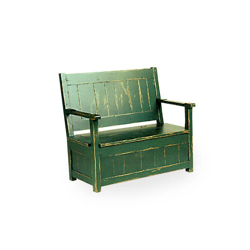 8850 – SETTEE WITH LIFT SEAT STORAGE | QuackenBush & Winkler ...