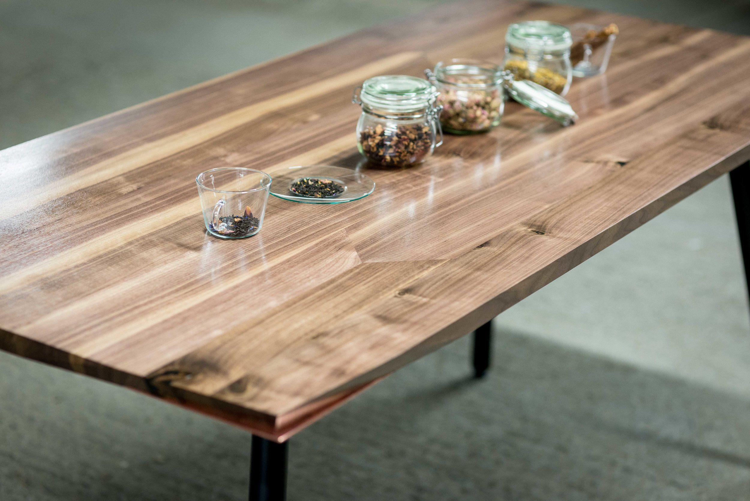 Aviator Walnut Dining Table Dining Table Handmade Furniture