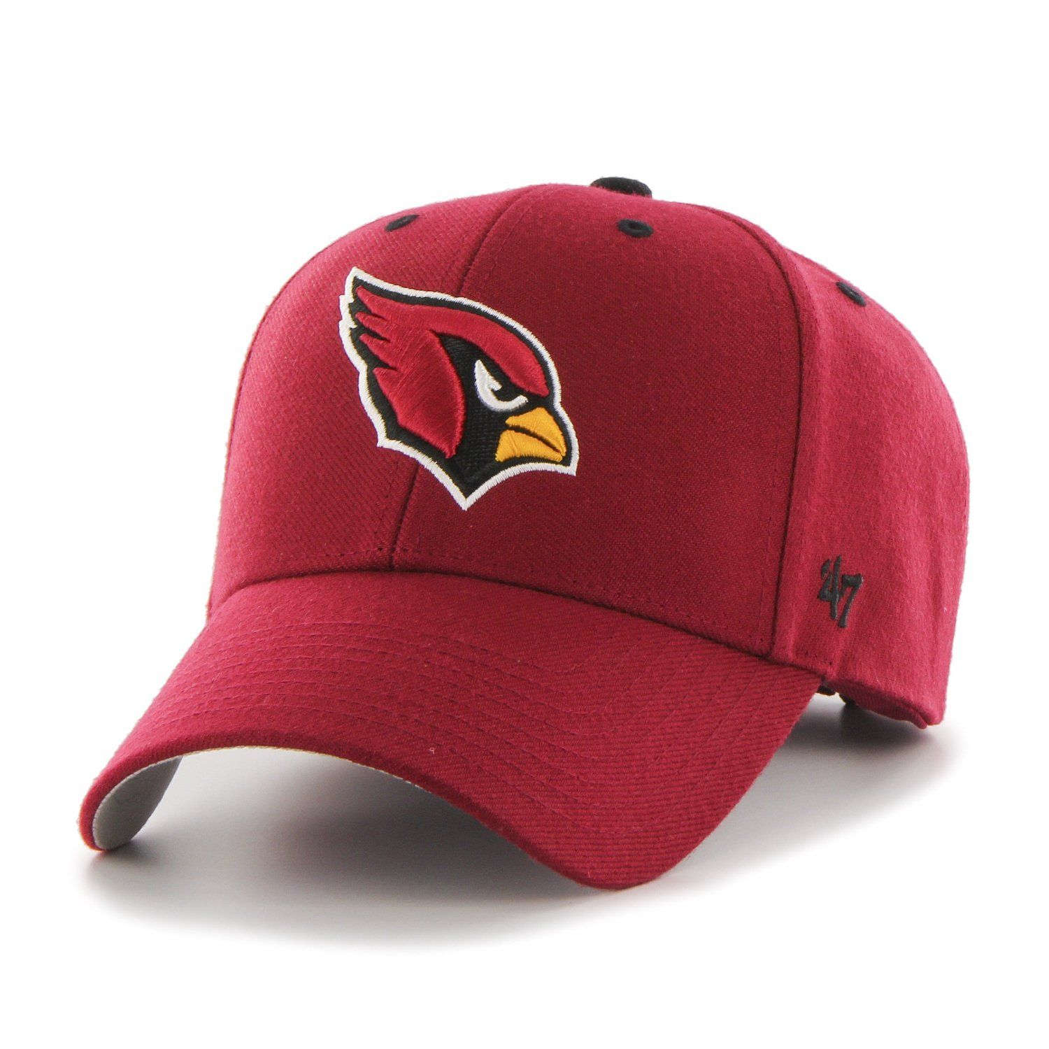new style cd6e7 ad864 ... spain arizona cardinals audible mvp dark red 47 brand adjustable hat  great prices and fast shipping