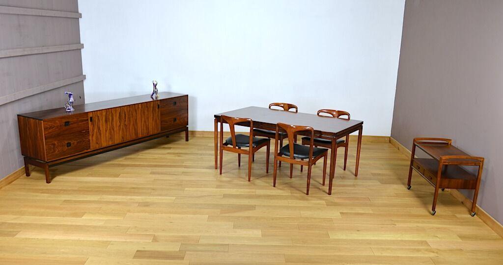 Enfilade Danoise Hans Hove Palle Petersen Editeur Chr Linneberg 1960 A2239 Decoration Maison Mobilier De Salon Enfilade