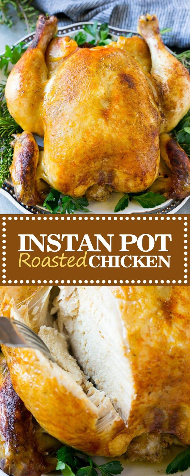 INSTANT POT ROASTED CHICKEN images