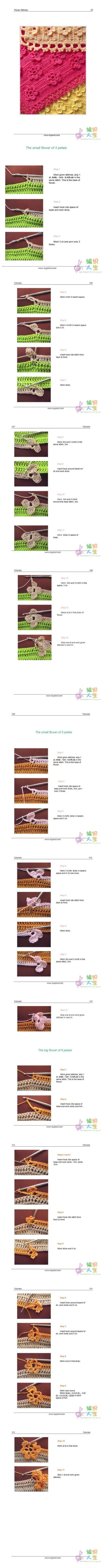 que giros pontos de crochet / Free pattern for an adorable crochet ...