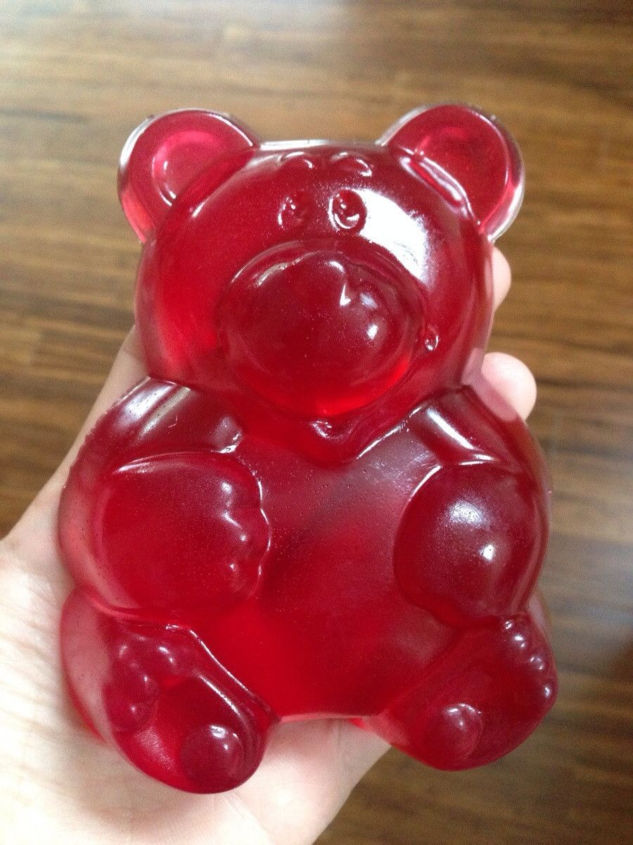 A giant candy bear from Germany~