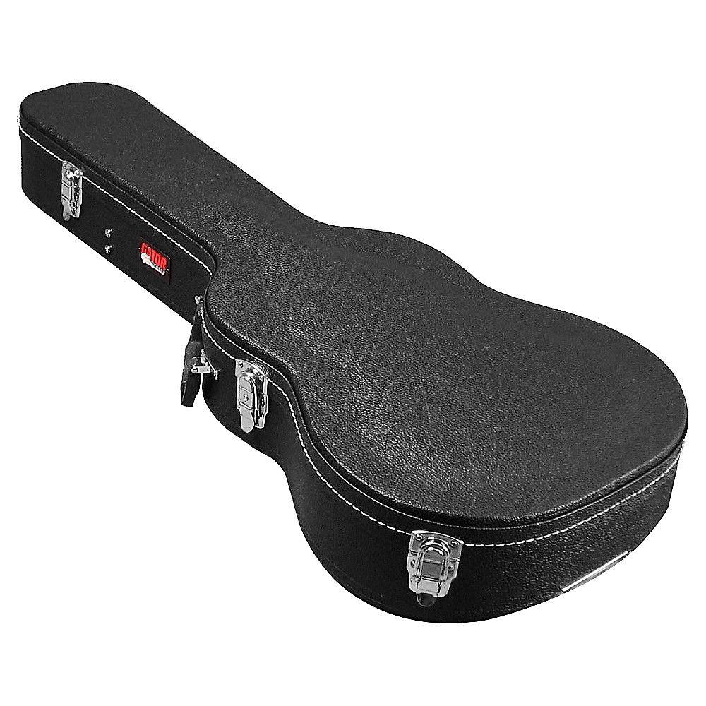 Gator Gwe Acou 3 4 Hardshell 3 4 Size Acoustic Guitar Case In 2021 Acoustic Guitar Case Guitar Case Black Acoustic Guitar