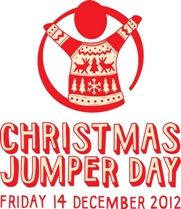 What's it all about? | Save the Children UK are running Christmas Jumper Day today - wear a festive knitwear and give to support :)