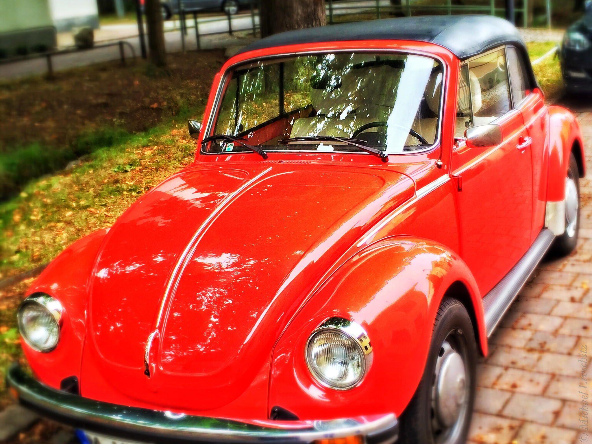 Volkswagen Beetle by Michael Livschitz on 500px/ auto, cabriolet, car, munich, perlach, retro, volkswagen, volkswagen beetle, vw käfer cabrio, vw cabrio