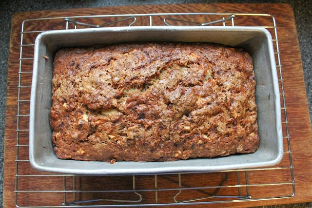 Easy Apple Banana Bread