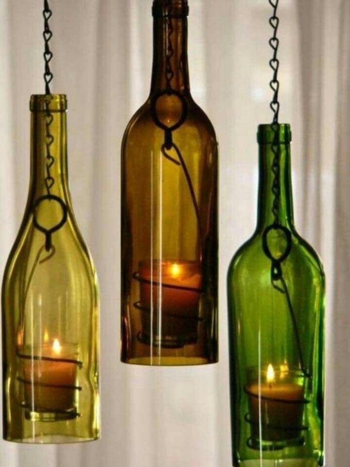 pin von marco groi auf deko pinterest beleuchtung garten deko und flaschen. Black Bedroom Furniture Sets. Home Design Ideas