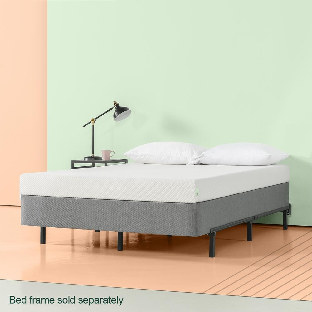 Zinus Mehdi Deluxe 9 In Smart Box Spring King Smart Box Bed Frame Box Spring Queen