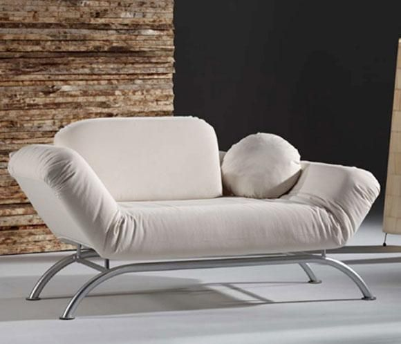 Sill n cama muy buena opci n para espacios reducidos for Cama sillon