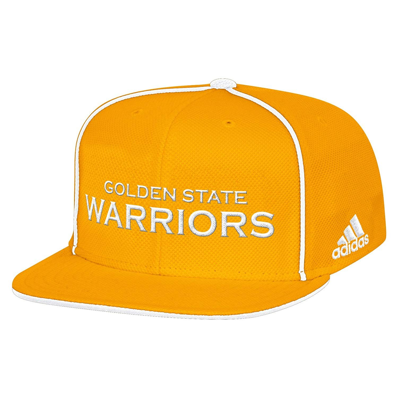 bdb69e21e015d NBA Golden State Warriors Men s Fanwear Team Flat Brim Snapback Cap ...