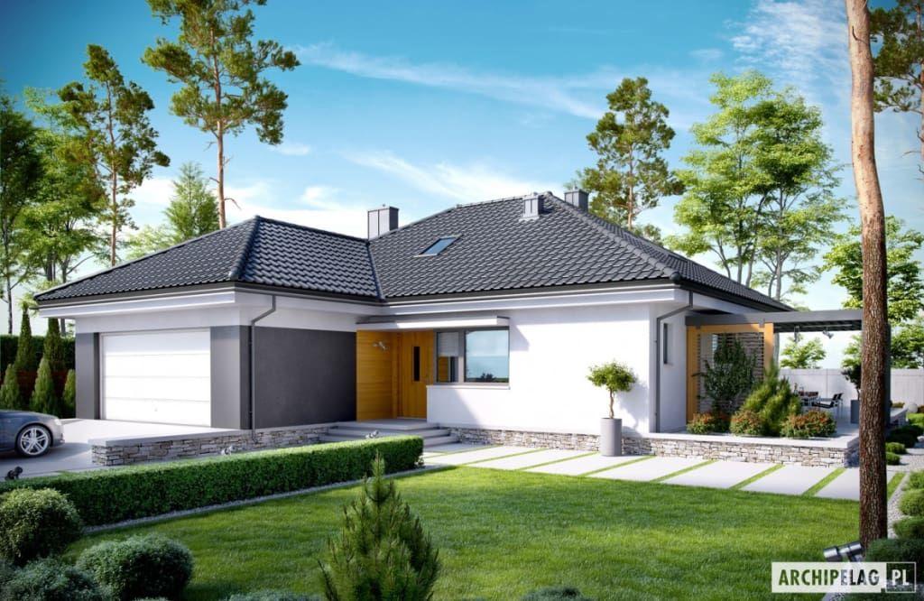 photos de maisons de style de style moderne par pracownia projektowa archipelag - Facade Maison Style Moderne