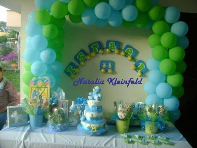Mesa De Pastel Para Baby Shower.Decoracion De Baby Shower Pastel De Panales Y Centros De