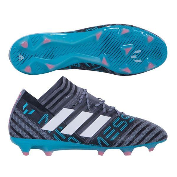 f1fff848c Weave through defenders with the Adidas Nemeziz Messi 17.1 FG Soccer Cleats  - Grey Black