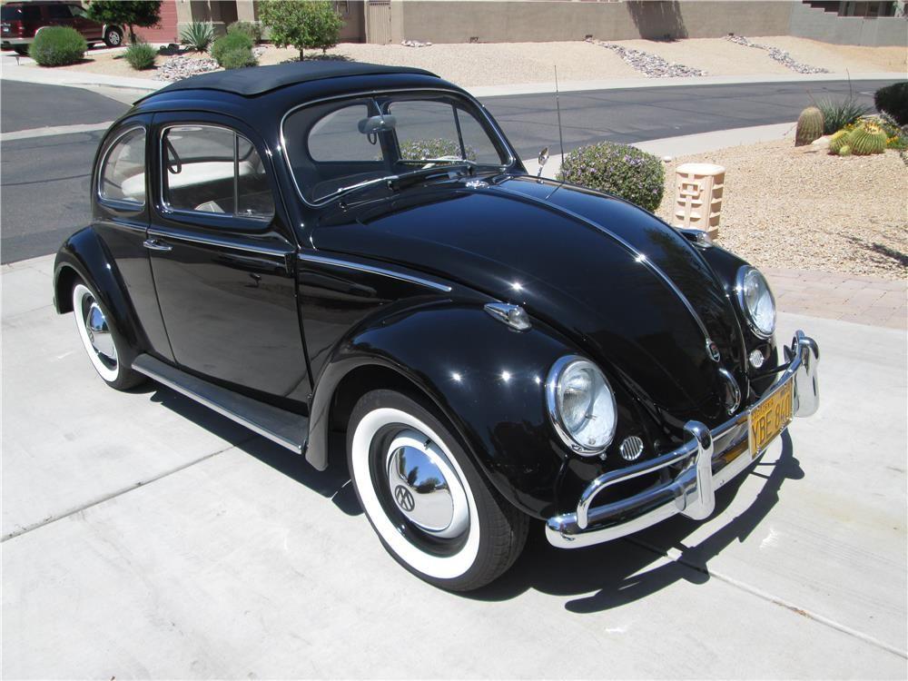 1960 Volkswagen Beetle Sunroof Bugs Volkswagen Vw