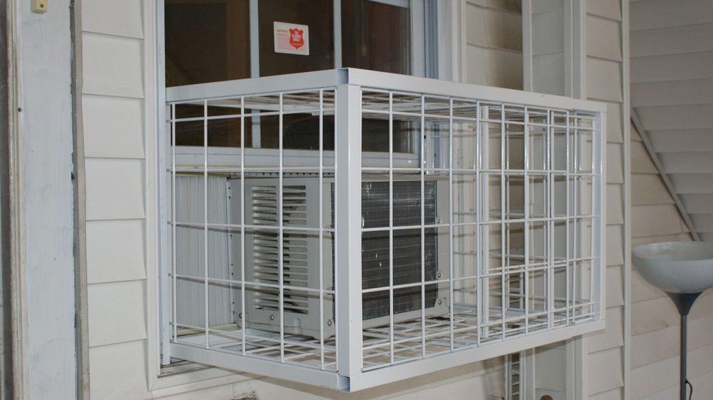 Air Conditioner Window Guard 30 40 In Acwindowguard Window Air Conditioner Windows How To Make Ac