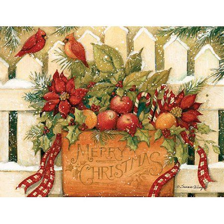 Lang Merry Christmas Welcome Boxed Christmas Cards, Multicolor
