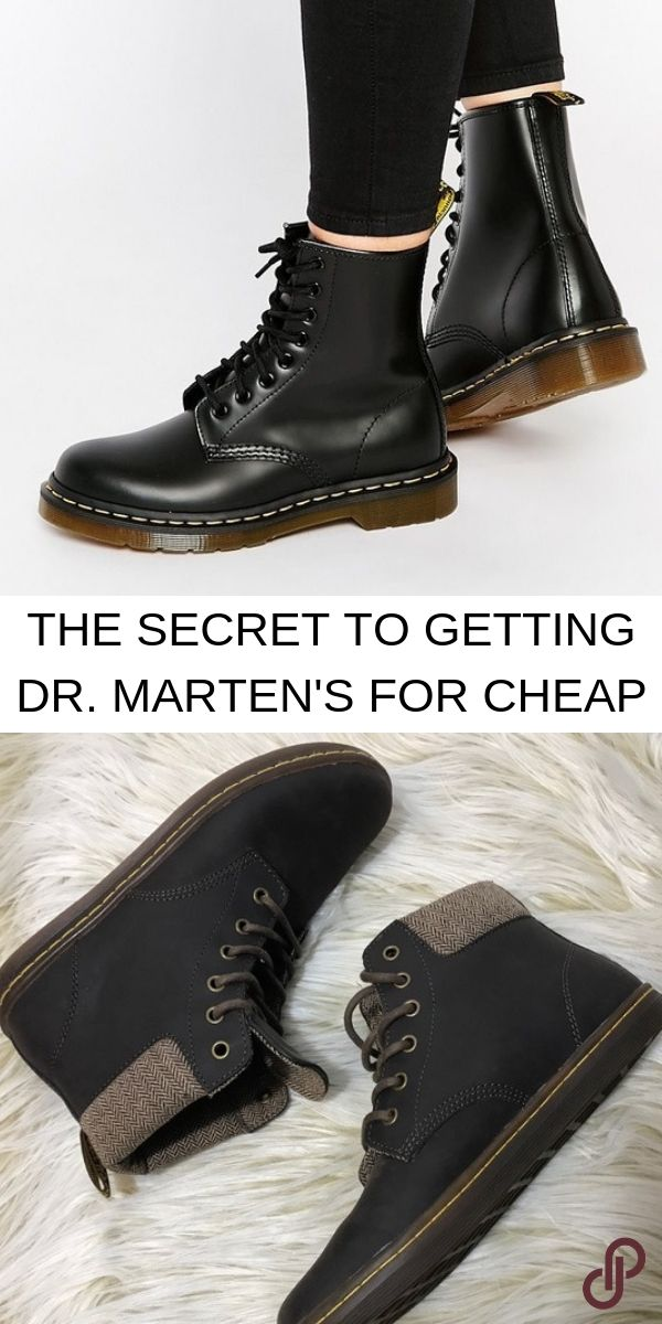Find Dr. Marten's shoes up to 70% off when you shop on