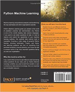Python Machine Learning  Learning machine learning has never been easier