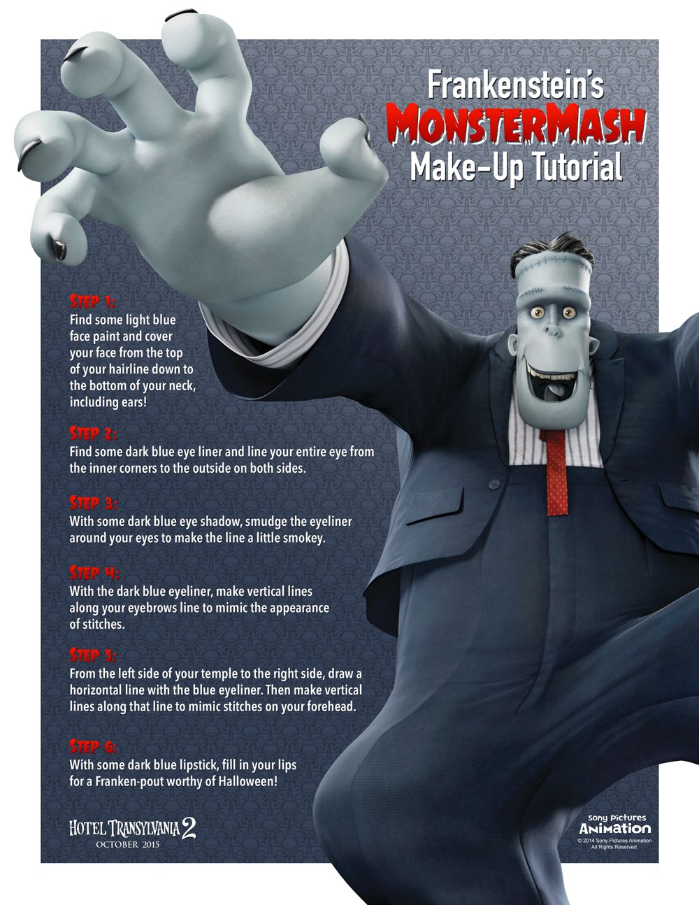 Want To Be Frank From Hotel Transylvania For Halloween Find Out