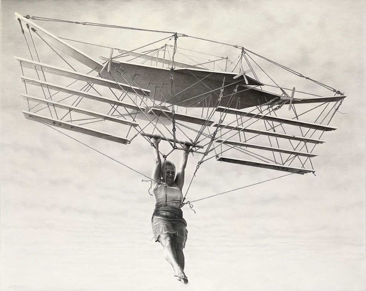 Flying machine laurie lipton chariots of the air - Machine a the lipton ...