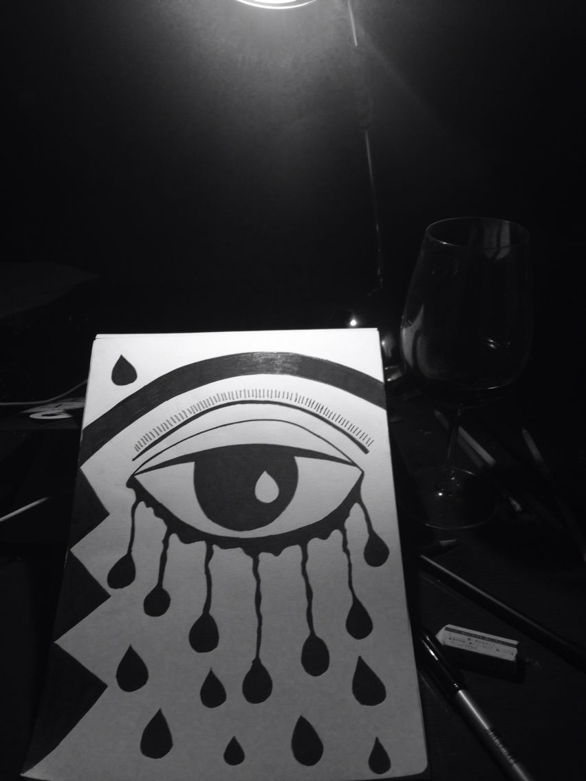Melting eye #byme